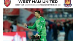arsenal-west-ham-programme