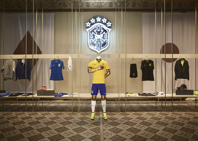 brazil kit nike Nike Unveils New Images of World Cup Shirts: Soccer Eye Candy [PHOTOS]