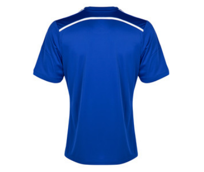 chelsea home shirt back Chelsea Home Shirt For 2014/15 Season: Video and Official [PHOTOS]