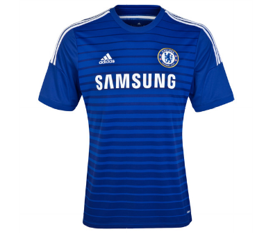 chelsea home shirt front Chelsea Home Shirt For 2014/15 Season: Video and Official [PHOTOS]