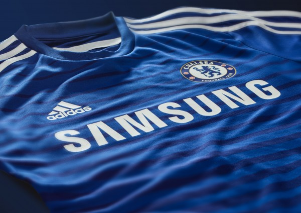 chelsea home shirt top 600x424 Chelsea Home Shirt For 2014/15 Season: Video and Official [PHOTOS]