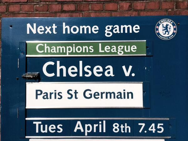 chelsea psg sign Chelsea vs Paris Saint Germain and Real Madrid vs Borussia Dortmund, 2nd Leg: Open Thread