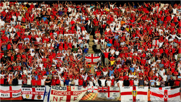 england fans 600x338 Football's Coming To Its Second Home: An England Fan's Guide
