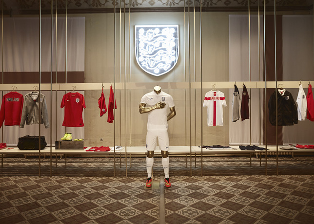 england kit nike Nike Unveils New Images of World Cup Shirts: Soccer Eye Candy [PHOTOS]