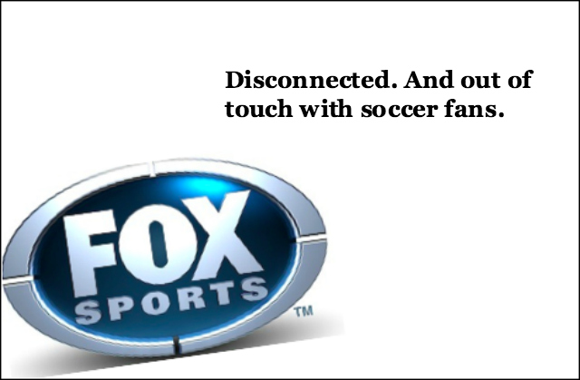 fox sports out of touch soccer Gus Johnson is Just the Start of FOX Sports Soccer Issues