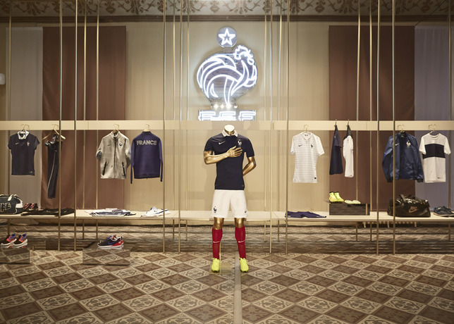 france kit nike Nike Unveils New Images of World Cup Shirts: Soccer Eye Candy [PHOTOS]