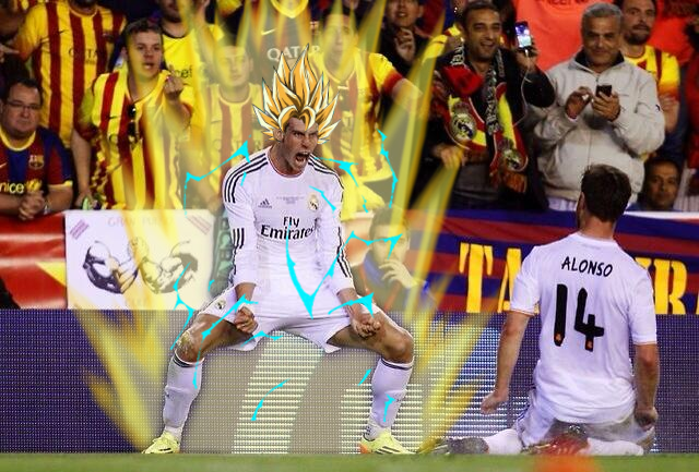 gareth bale WATCH Gareth Bales Amazing Goal For Real Madrid Against Barcelona [GIF]