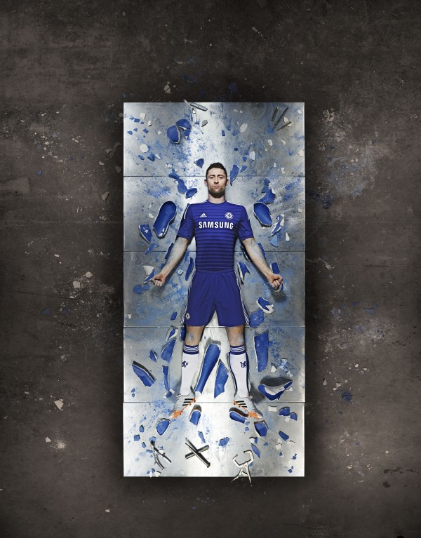 gary cahill chelsea home shirt 600x767 Chelsea Home Shirt For 2014/15 Season: Video and Official [PHOTOS]
