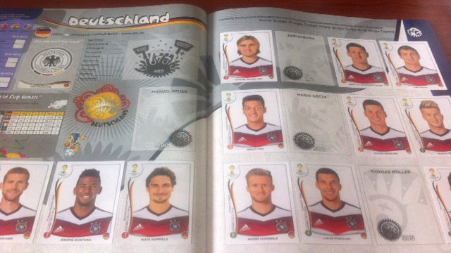 germany panini stickers Panini Stickers for 2014 FIFA World Cup Now Available In Stores Nationwide