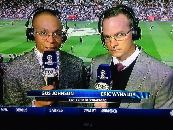 gus johnson eric wynalda The Dumbing Down Of Soccer Announcing By Gus Johnson and FOX Sports