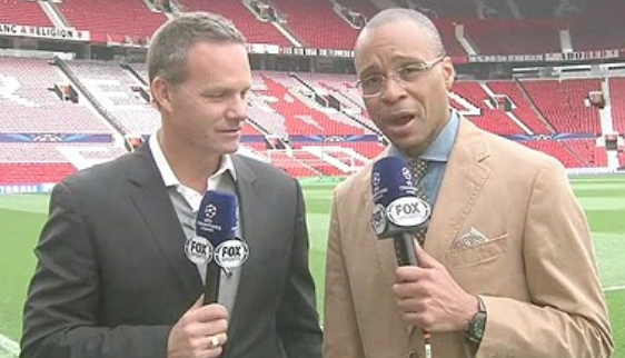 gus johnson eric wynalda Gus Johnson Fails to Give FOX Sports 1s Soccer Ratings a Boost