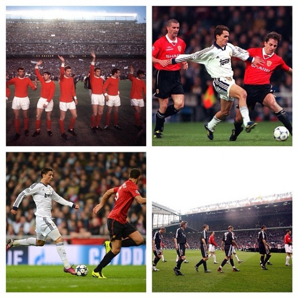 man united real madrid 600x600 Manchester United and Real Madrid to Play In Michigan on August 2
