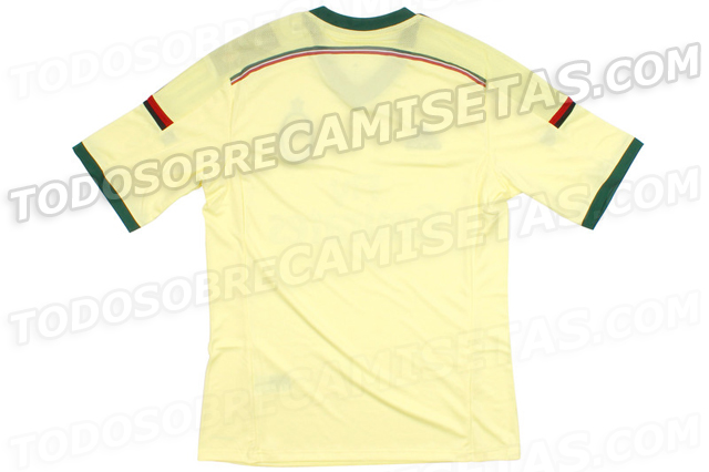 milan third shirt back AC Milan Third Shirt For 2014/15 Season: Leaked [PHOTOS]