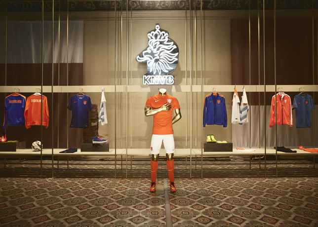 netherlands kit nike Nike Unveils New Images of World Cup Shirts: Soccer Eye Candy [PHOTOS]
