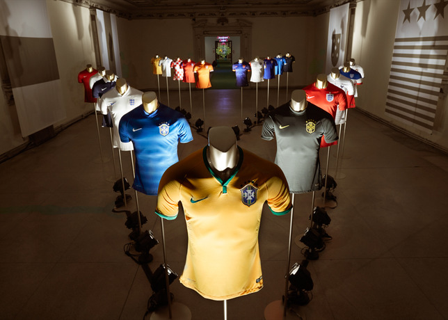 nike world cup 2014 kits Nike Unveils New Images of World Cup Shirts: Soccer Eye Candy [PHOTOS]