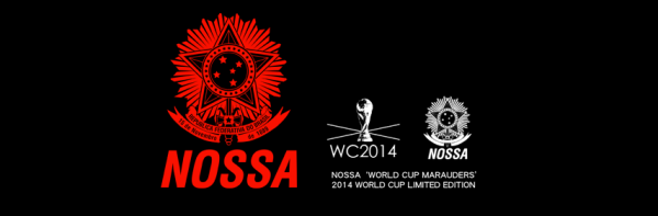 nossa logo 600x197 Limited Edition World Cup Marauders T Shirts Now Available