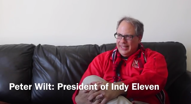 WATCH Our Exclusive Interview With Peter Wilt, Indy Eleven's GM [VIDEO]