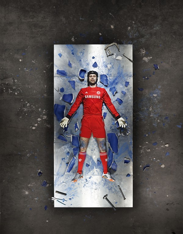 petr cech chelsea kit 600x766 Chelsea Home Shirt For 2014/15 Season: Video and Official [PHOTOS]