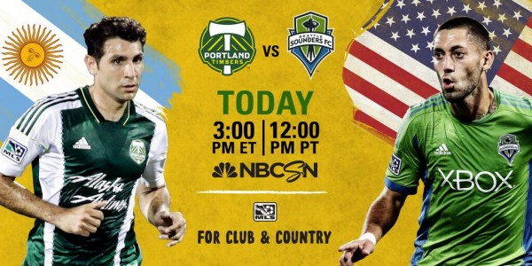 portland seattle 600x300 Portland Timbers vs Seattle Sounders, First Cascadia Cup Of 2014 Season: Open Thread