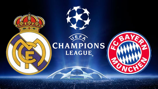 Image result for bayern vs real madrid head to head
