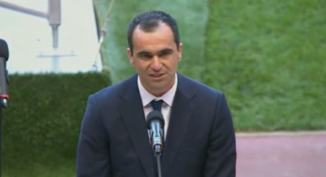 roberto martinez WATCH Roberto Martinezs Emotional Speech at Hillsborough Memorial Service [VIDEO]