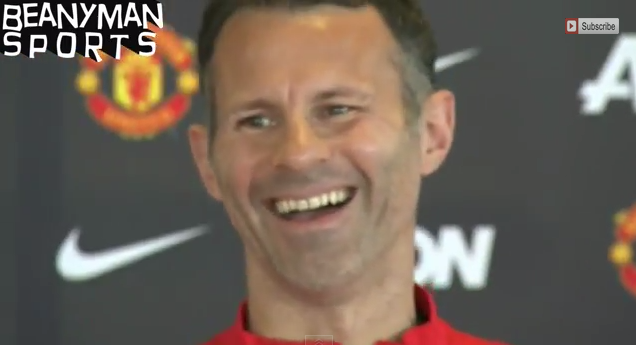 ryan giggs WATCH Ryan Giggs First Press Conference as Manchester United Manager [VIDEO]