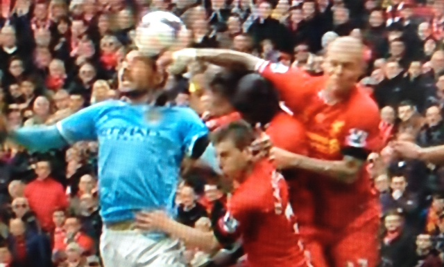 Reviewing Mark Clattenburgs Refereeing Decisions in the Liverpool Man City Match