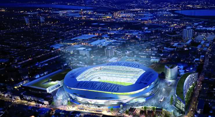 Tottenham Moving Into New Stadium In 2017