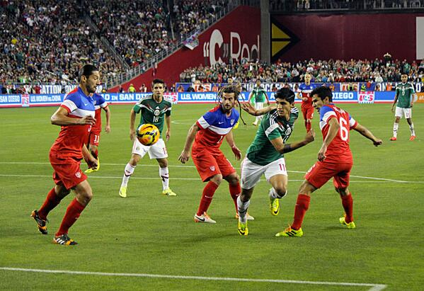 usmnt mexico USMNT 2 2 Mexico: US Let 2 0 Lead Slip In Julian Green Debut