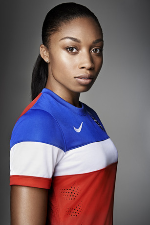usmnt world cup away shirt allyson felix Photos of USMNT World Cup Away Jersey Modeled By Spike Lee, Andrew Luck, Eric Koston and Other Stars