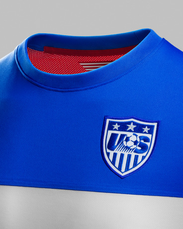 usmnt world cup away shirt collar Photos of USMNT World Cup Away Jersey Modeled By Spike Lee, Andrew Luck, Eric Koston and Other Stars