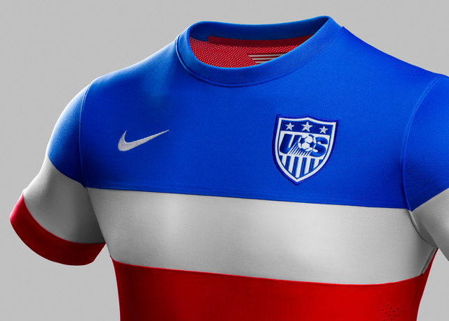 usmnt world cup away shirt front side Photos of USMNT World Cup Away Jersey Modeled By Spike Lee, Andrew Luck, Eric Koston and Other Stars