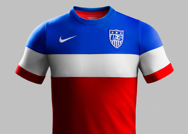 usmnt world cup away shirt front Photos of USMNT World Cup Away Jersey Modeled By Spike Lee, Andrew Luck, Eric Koston and Other Stars