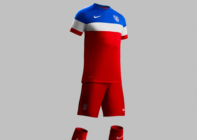 usmnt world cup away shirt full kit side Photos of USMNT World Cup Away Jersey Modeled By Spike Lee, Andrew Luck, Eric Koston and Other Stars
