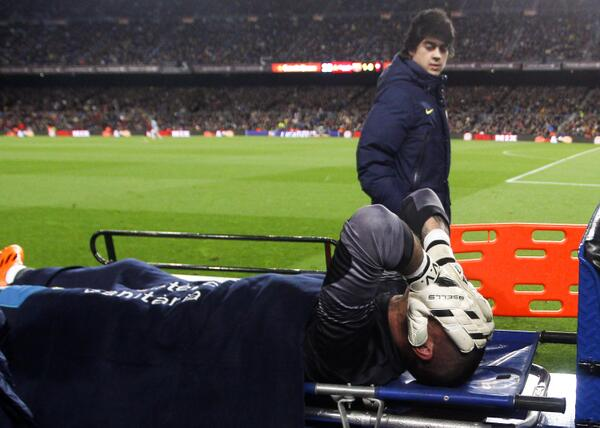 victor valdes 11 Stars That Could Miss World Cup 2014 Due to Injury