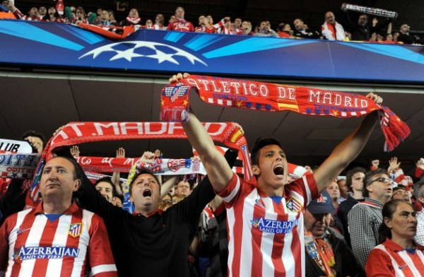 Atleti Fans 600x392 UEFA Champions League: What We've Learnt From This Week's Semi Finals