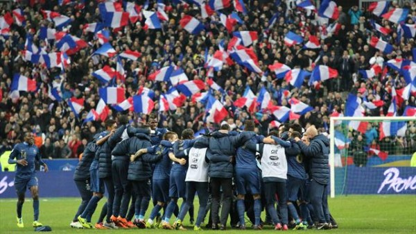 France 600x337 Switzerland 2 5 France: Les Bleus Make Major Statement; Match Highlights [VIDEO]