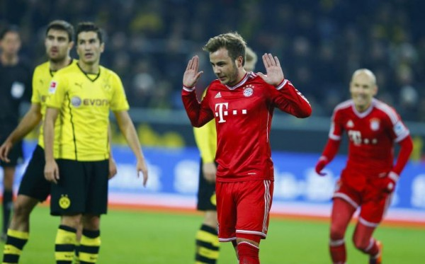 Gotze Bayern 600x373 The Top 5 Must See Soccer Games On TV This Weekend