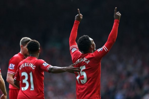 Liverpool players for Englad 600x399 Liverpool Player Ratings Versus Tottenham Hotspur