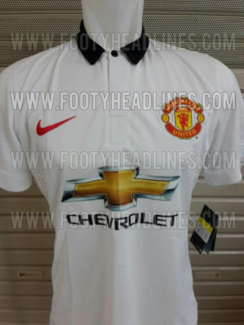 Manchester United 14 15 Away Kit Are These Manchester Uniteds Home and Away Shirts for 2014/15? Leaked [PHOTOS]
