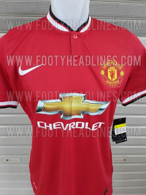 Manchester United 14 15 Home Kit Are These Manchester Uniteds Home and Away Shirts for 2014/15? Leaked [PHOTOS]
