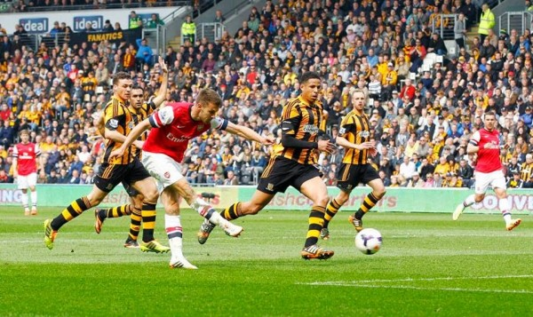 Ramsey Hull 600x357 The Top 5 Must See Soccer Games On TV This Weekend