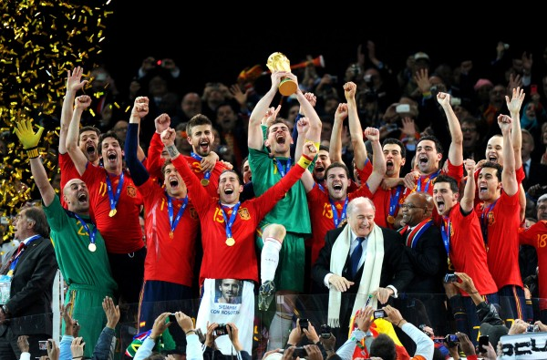 Spain 600x395 World Cup 2014: Our Pick Who Will Lift The Trophy