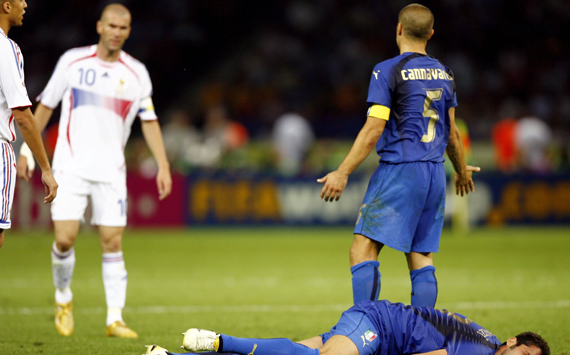 Zidane Italy11 Most Exciting World Cup Moments: Number 22   Zidane Loses His Head [VIDEO]