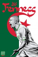 algeria world cup poster espn 150x225 View World Cup Posters For All 32 Teams At Brazil 2014 From ESPN