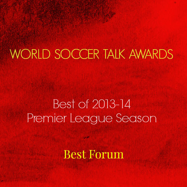 best forum 2014 World Soccer Talk Awards: Best Premier League Forum