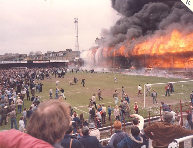 bradford city fire People didn't die because of fires at football grounds it was unprecedented those are the words of david pendleton, a survivor of the bradford city fire disaster, which happened 30 years ago fifty-six people died more than 250 others were injured in one of the biggest disasters at a british.