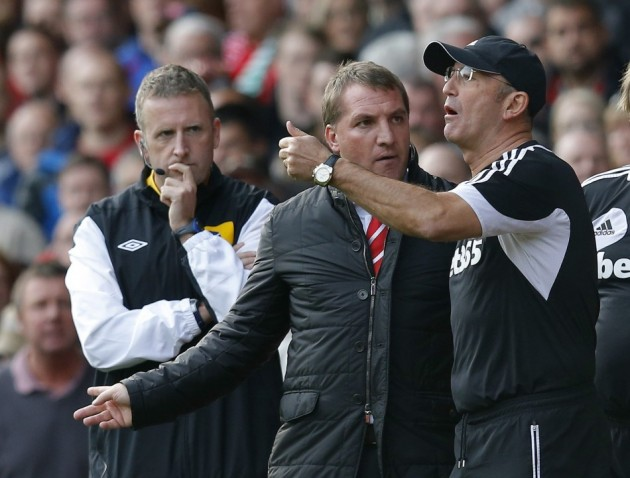 brendan rodgers tony pulis Crystal Palace vs Liverpool, Premier League Gameweek 37: Open Thread