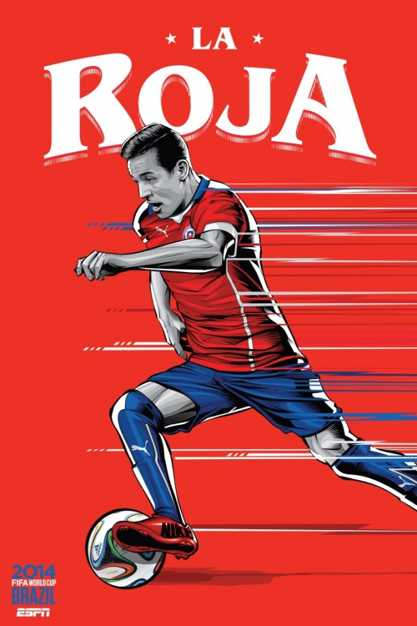 chile world cup poster espn 600x900 Chile vs Australia, World Cup Group Stage: Open Thread