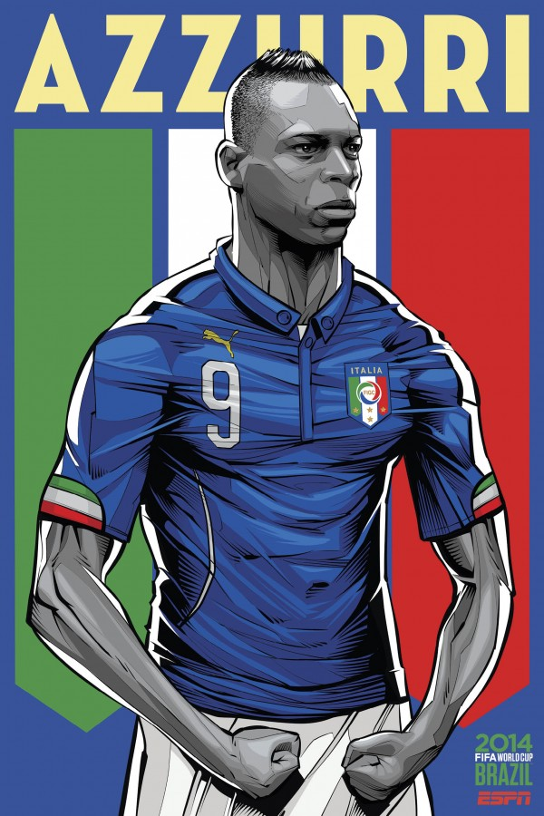italy world cup poster espn 600x900 Italy Names Its 23 Man Squad For World Cup 2014
